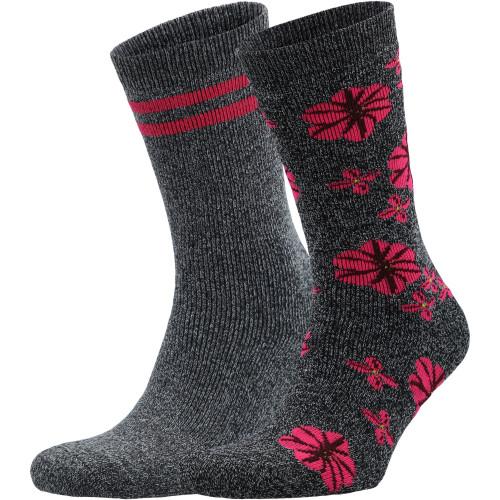 Носки Moisture Control Anklet Flowers, 2 пары