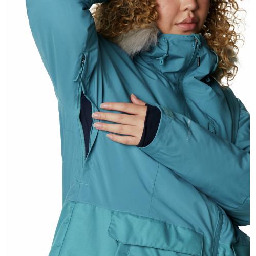 Куртка утепленная женская Mount Bindo - фото 8